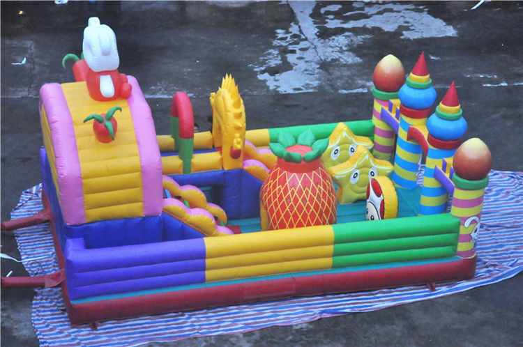 Chiny Giant Inflatable Toddler Playground Cheer Amusement Animal Theme Certyfikat CE fabryka