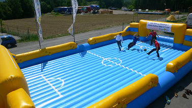 Funny Inflatable Soccer Field, Inflatable Water Soccer Field for Adult